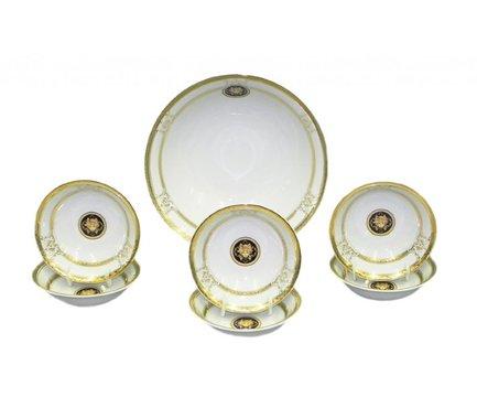 Leander Набор салатников Сабина Золото Версаче, 7 пр. 02161416-A126 Leander цены онлайн