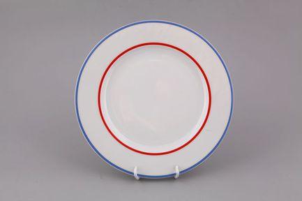 Leander Набор тарелок мелких Сабина Фруктовые сады, 25 см, 6 шт. 02160125-2410 Leander набор тарелок мелких 6 шт 25см форма сабина 0676 фарфор leander 655474
