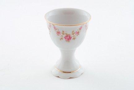 Leander Чашка для яйца Соната Розовая нить на ножке, 7 см 07112415-0158 Leander remember чашка для яйца dots