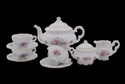Фото - Сервиз чайный Соната Весенние цветы, 15 пр. 07160725-0013 Leander сервиз для торта соната весенние цветы 7 пр 07161019 0013 leander