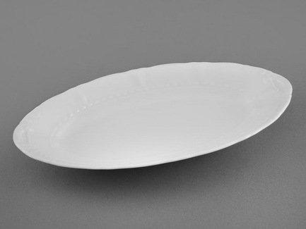 Leander Блюдо овальное Соната Белоснежная классика, 23 см