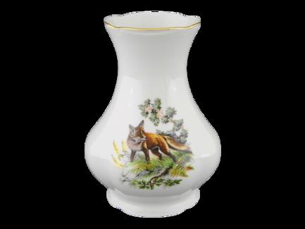 ваза с крышкой мэри стекло 19 см Ваза Мэри-Энн Лесная сказка, 19 см, большая 03118213-0363 Leander
