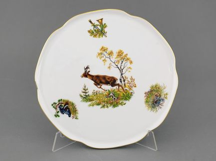 Leander Тарелка для торта Мэри-Энн Лесная сказка, 28 см 03116015-0363 Leander