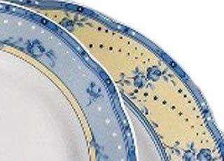 Leander Набор тарелок мелких Мэри-Энн Нежные цветы, 19 см, 6 шт.