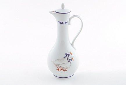 Leander Емкость для уксуса Гуси (0.25 л) 03120732-0807 Leander ponti топпинг соевый glassa alla soia на основе бальзамического уксуса di modena 250 мл