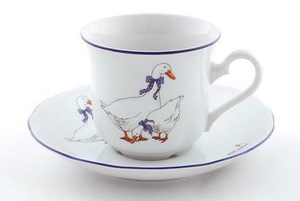 Leander Набор чашек высоких Мэри-Энн Кантри (0.2 л) с блюдцами, 6 шт. 216 0729057 new