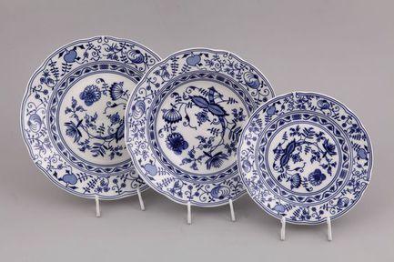 Leander Набор тарелок Мэри-Энн Гжель, 18 пр. 03160119-0055 Leander