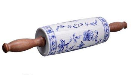 Скалка для лапши Мэри-Энн Гжель, большая