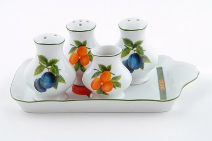 цена на Leander Набор для приправ Мэри-Энн Фруктовые сады, 5 пр. 03162513-080H Leander