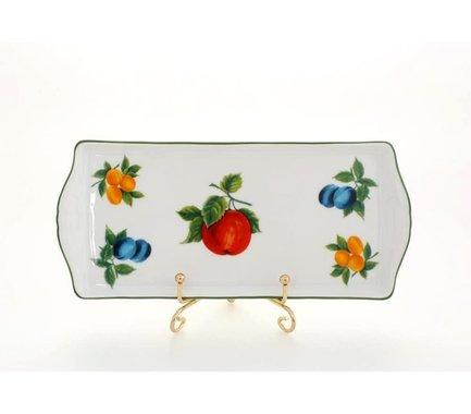 Leander Поднос Мэри-Энн Фруктовые сады, четырехгранный, 21 см 03111745-080H Leander поднос для чайной церемонии