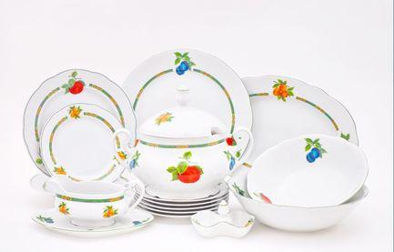 Leander Сервиз столовый Мэри-Энн Фруктовые сады, 25 пр. leander сервиз столовый мэри энн новогодний 24 пр