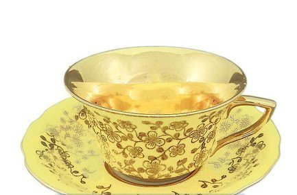 Leander Чашка низкая Виндзор (0.15 л) с блюдцем 13120424-L341 Leander