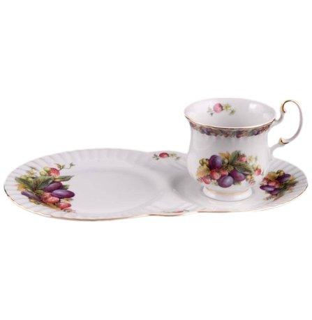 Leander Сервиз чайный для завтрака Моника, 2 пр. 28120815-0772 Leander николай лазорский роксолана королева османской империи сборник