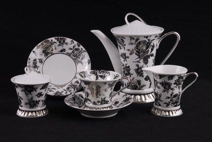 Leander Сервиз чайный Светлана, 15 пр. colombo чайный сервиз из 15 предметов на 6 персон флёр c2 ts 15 3701al