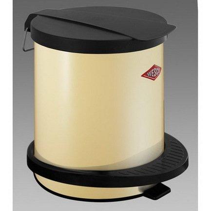 Wesco Мусорный контейнер с педалью, слоновая кость 101012-23 Wesco все цены
