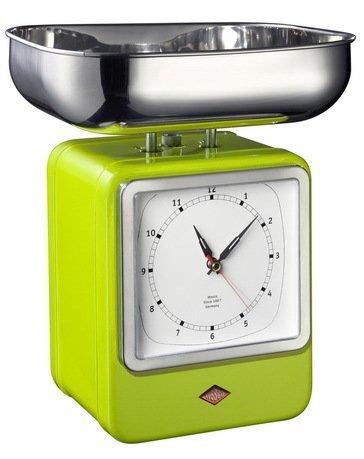 Wesco Кухонные весы-часы Retro Style, ультра 322204-20 Wesco
