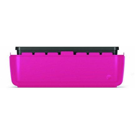 База балконного ящика myBOX, 50 см, розовая