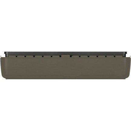 База балконного ящика myBOX, 75 см, коричневая