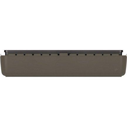 База балконного ящика myBOX, 75 см, антрацит
