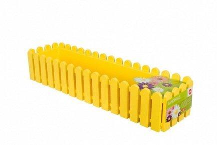 Ящик балконный Landhaus, 75 см, желтый