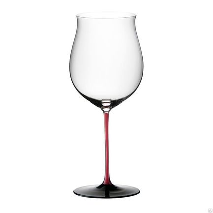 Riedel Фужер Burgundy Grand Cru (1050 мл), c красной ножкой 4100/16 R Riedel riedel бокал для красного вина bordeaux grand cru 860 мл