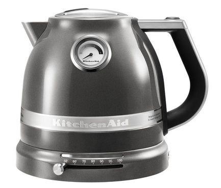 KitchenAid Электрочайник Artisan серебряный медальон 5KEK1522EMS KitchenAid электрочайник kitchenaid 5kek1722esx стальной