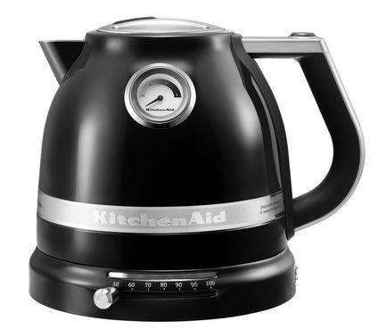KitchenAid Электрочайник Artisan черный 5KEK1522EOB KitchenAid электрочайник kitchenaid 5kek1722esx стальной