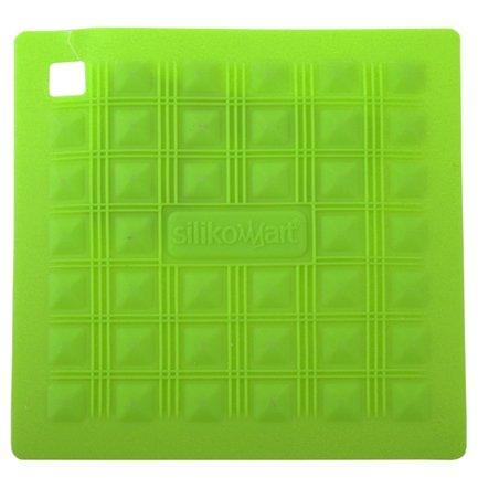 все цены на Silikomart Прихватка-подставка для горячего, 17.5х17.5 см, зеленая онлайн