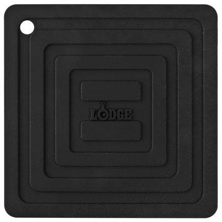 Lodge Подставка квадратная, 15 см, черная