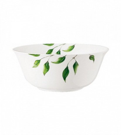 Guy Degrenne Салатник Vegetal, 26 см 140211 Guy Degrenne guy degrenne блюдо овальное ouliveiro porcelaine веточки 36 см 127713 guy degrenne