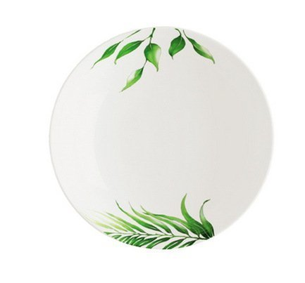Guy Degrenne Тарелка суповая Vegetal без бортика круглая (500 мл), 21.5 см