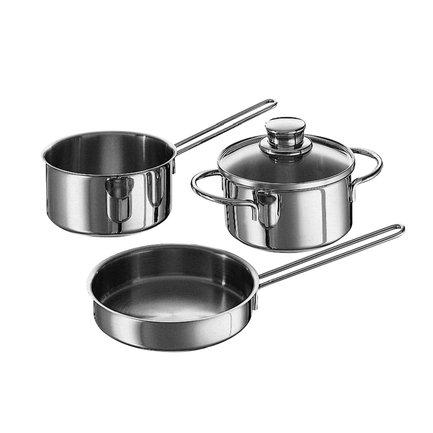 Fissler Набор посуды Snack Set, 3 пр. 831603 Fissler ruffoni набор медной посуды opus cupra 3 пр cz06 ruffoni ruffoni