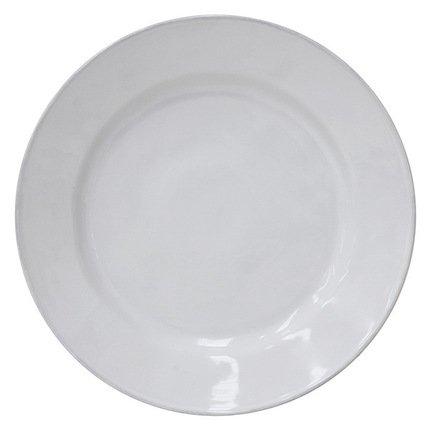 Costa Nova Тарелка Astoria, 33 см, белая, покрытие глазурь costa nova тарелка nova 33 см голубая покрытие глазурь