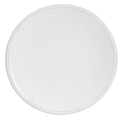 Costa Nova Тарелка Friso, 22 см, белая costa nova тарелка astoria 23 см белая покрытие глазурь