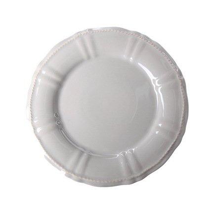 Costa Nova Тарелка Village, 22 см, серая, покрытие глазурь costa nova тарелка astoria 23 см белая покрытие глазурь