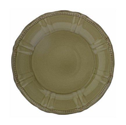Costa Nova Тарелка Village, 33 см, коричневая, покрытие глазурь costa nova тарелка astoria 23 см белая покрытие глазурь
