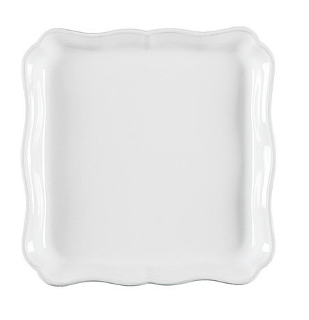 Costa Nova Поднос квадратный Alentejo, 21 см, белый JP211-00201Z Costa Nova чашка costa nova friso комплект из 4 шт fis 181 01410 o