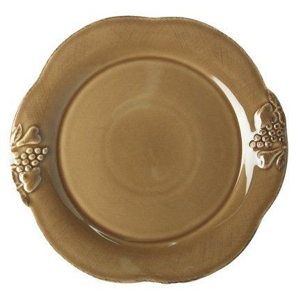 купить Costa Nova Тарелка Mediterranea, 30 см, коричневая, покрытие глазурь MP302-02005J Costa Nova по цене 1440 рублей