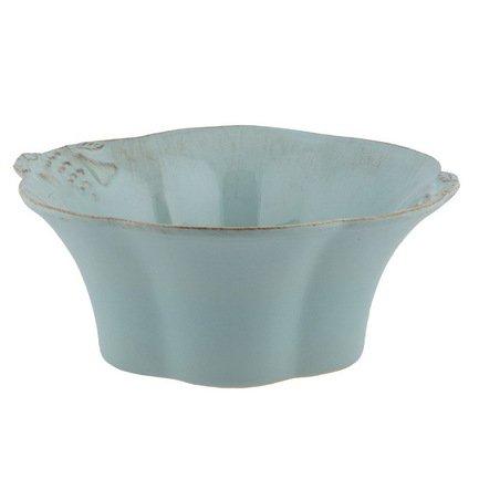 Costa Nova Чаша Mediterranea, 28 см, голубая, покрытие глазурь MS281-00201D Costa Nova цена