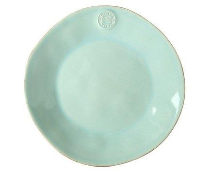 Costa Nova Тарелка Nova, 21 см, голубая, покрытие глазурь NOP211-02409E Costa Nova чашка costa nova friso комплект из 4 шт fis 181 01410 o