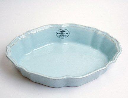 Costa Nova Блюдо для запекания овальное Impressions, 25 см, голубое SA251-00804C Costa Nova чашка costa nova friso комплект из 4 шт fis 181 01410 o