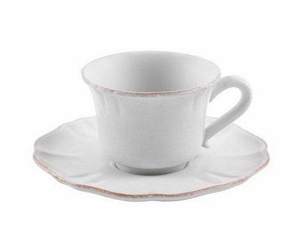 Costa Nova Чайная пара Impressions (0.22 л), белая SCS01-00804A Costa Nova costa nova чайная пара friso серая fics01 04807q costa nova