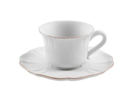 Costa Nova Кофейная пара Impressions (0.09 л), белая SCS02-00804A