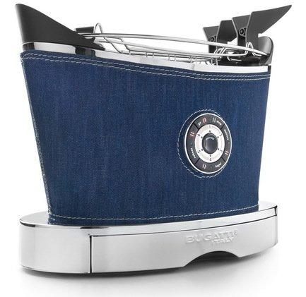 Casa Bugatti Тостер двухслотовый Volo, деним 13-VOLODE Casa Bugatti lamoda скидка 499 рублей