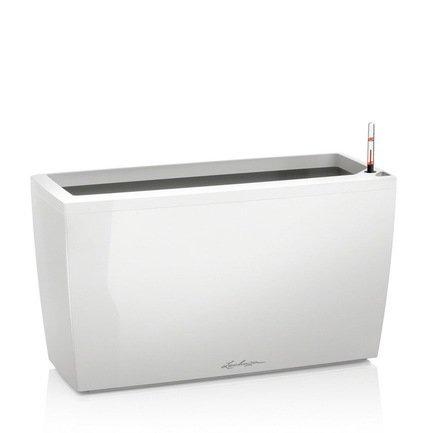 Кашпо Караро 75 с системой полива, белое от Superposuda