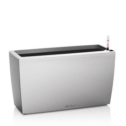 Lechuza Кашпо Караро 75 с системой полива, серое lechuza кашпо караро 75 с системой полива белое