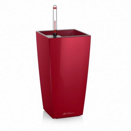 где купить Lechuza Кашпо Макси-Куби, 14х14х26 см, красное 18051 Lechuza по лучшей цене
