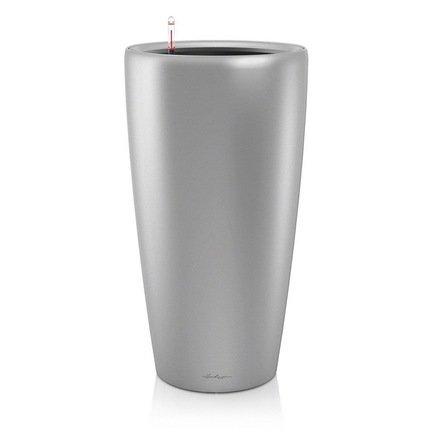 Lechuza Кашпо Рондо 40, серое, с системой полива кашпо с автополивом lechuza rondo цвет эспрессо 40х75 см