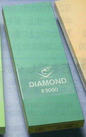 Naniwa Камень точильный с алмазом, 21х7.5х1.6 см, средний