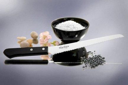 Tojiro Нож для нарезки хлеба Narihira, 20 см нож для хлеба tefal talent 20 см k0910404
